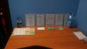 Dyplomy, Certyfikaty Fizjo Centrum Kluczbork - Gabinet Fizjoterapii i Masażu